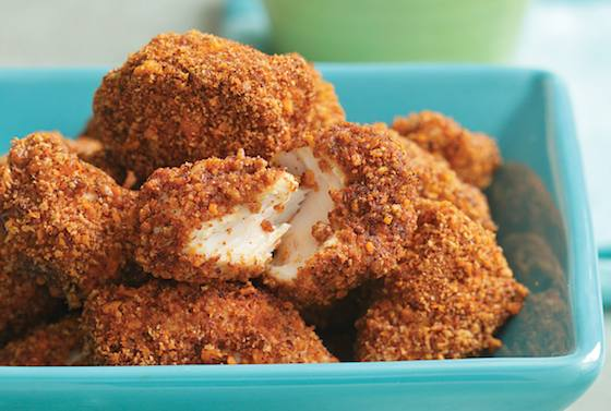 Spicy Pecan Popcorn Chicken Recipe