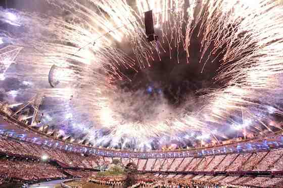 2012 Summer Olympics: Opening Ceremony (Photo by: Paul Drinkwater/NBC)