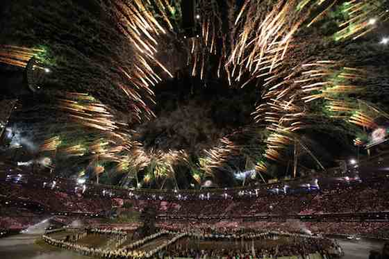 2012 Summer Olympics: Opening Ceremony - Olympic Stadium (Photo by: Paul Drinkwater/NBC)