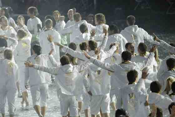 2012 Summer Olympics: Opening Ceremony - Team Great Britain (Photo by: Paul Drinkwater/NBC)