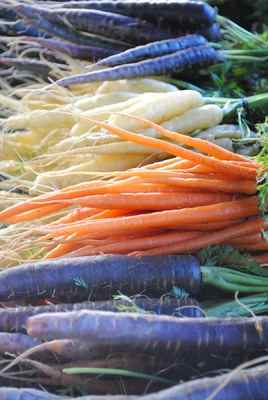 Celebrate Springtime with Baby Vegetable Stew  - The farmer's markets are beginning to show signs of spring with multicolored carrots and other tender baby roots