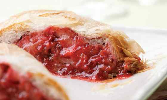 Strawberry-Rhubarb Strudel Recipe