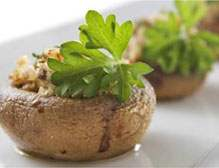 Oscars Party Recipes - Stuffed Mushrooms