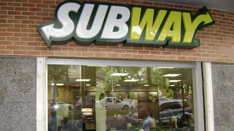 Subway Sandwiches Ranked by Calories