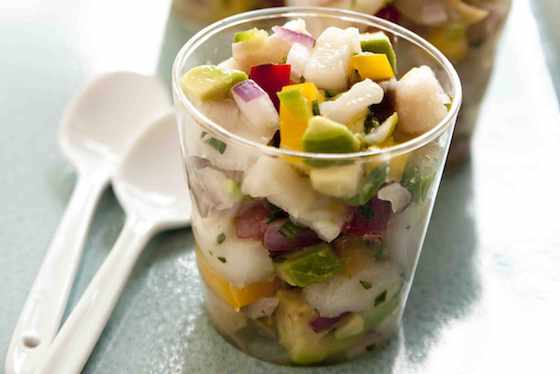Fish and Avocado Ceviche