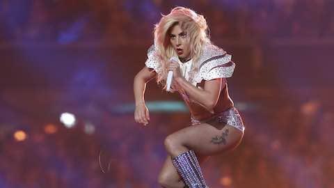 Lady Gaga Soars Over Super Bowl 51