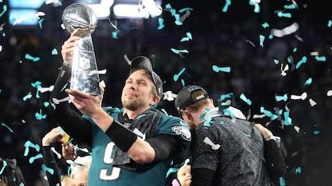 Eagles QB Nick Foles Super Bowl LII MVP