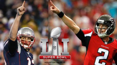 Super Bowl LI: Patriots vs Falcons Preview