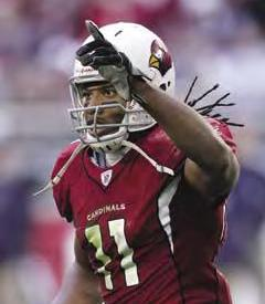 Super Bowl XLIII Cardinals Larry Fitzgerald
