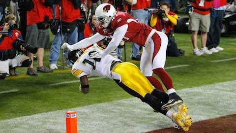 Super Bowl XLIII - Pittsburgh Steelers 27 Arizona Cardinals 23 - Santonio Holmes MVP