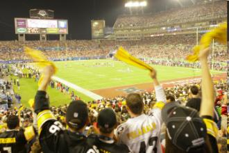 Super Bowl XLIII Steelers Fans -- NBC Photo: Paul Drinkwater