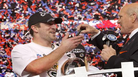 Super Bowl XLV - Packers QB Aaron Rodgers MVP - Packers 31 Steelers 25