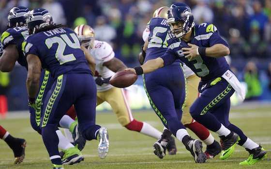 Super Bowl XLVIII: Bevell Confident SB Isn't Too Big for Wilson