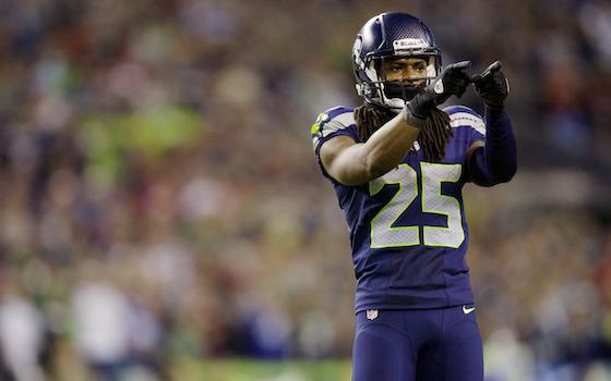 Super Bowl XLVIII: High Honor: 'Richard Sherman' Now a Verb