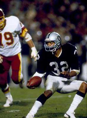 Super Bowl XVIII: MVP Marcus Allen in Action | Los Angeles Raiders  38  Washington Redskins  9 | MVP Marcus Allen, RB, Los Angeles Raiders
