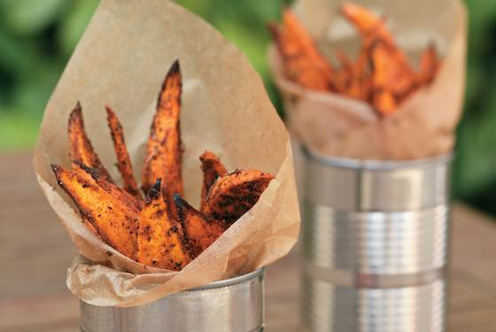 Sweet Potato Fries: Good to Eat and Good for You Recipe
