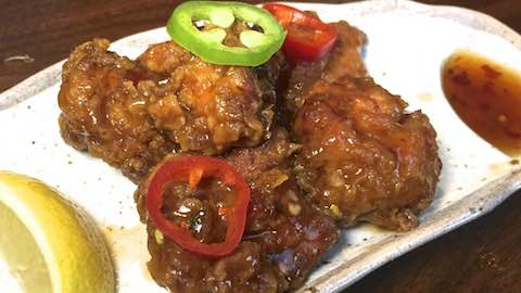 Sweet-and-Spicy Japanese Fried Chicken Recipe Recipe