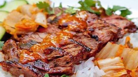 Szechuan Rib-Eye Steaks With Caramelized Shallot Sauce Recipe