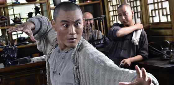 Yuan Xiaochao and Tony Leung Ka Fai  in Tai Chi Zero