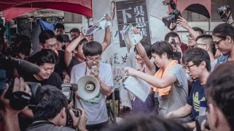 How Taiwan's High School Students Are Shaking Up the Country's Politics