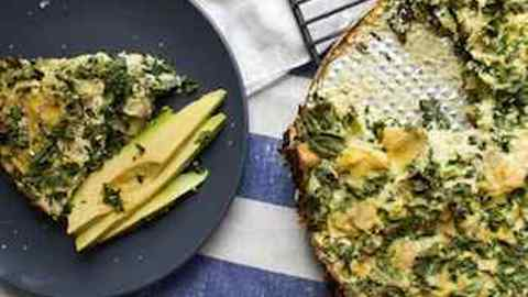 A Taste of Paris: Artichoke, Kale and Ricotta Pie