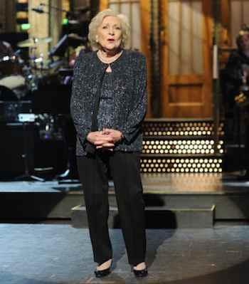 SATURDAY NIGHT LIVE -- Episode 1575 'Betty White' -- Pictured: Betty White -- Photo by: Dana Edelson/NBC