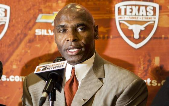 Texas Hires Charlie Strong as Head Football Coach