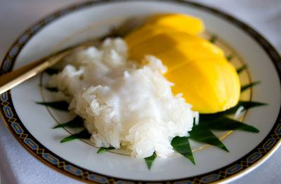 Thai Coconut Sticky Rice with Mango - Nick Malgieri Recipes | iHavenet ...
