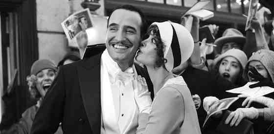 Jean Dujardin and Berenice Bejoin The Artist