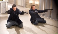 Sean Patrick Flanery & Norman Reedus in the movie The Boondock Saints II: All Saints Day