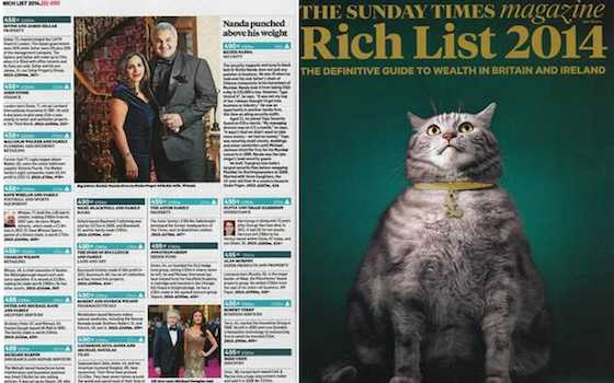 The Rich List and The West's Culture of Envy