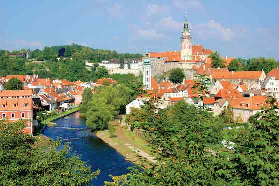 The Cobbled Charms of Cesky Krumlov