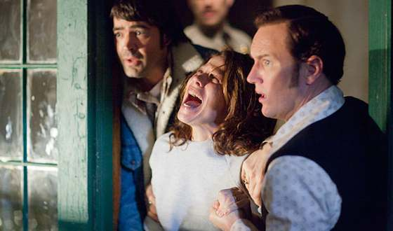 Vera Farmiga and Patrick Wilson  in 'The Conjuring'