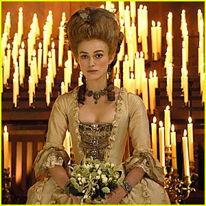 The Duchess Starring Keira Knightley, Ralph Fiennes, Hayley Atwell, Charlotte Rampling   Film Critic Tasha Robinson  Reviews The Duchess   Video