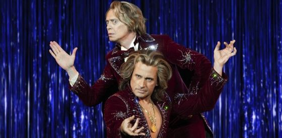 Steve Carell and Steve Buscemi  in 'The Incredible Burt Wonderstone'