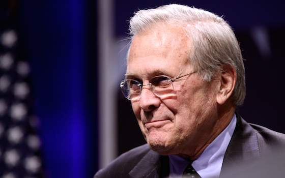The Knowing Donald Rumsfeld