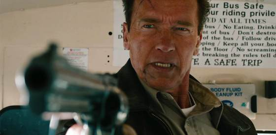 Arnold Schwarzenegger and Forest Whitaker  in The Last Stand