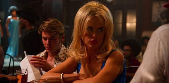 Nicole Kidman and Zac Efron  in The Paperboy