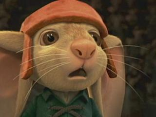Matthew Broderick as the voice of Despereaux in the Movie The Tale of Despereaux