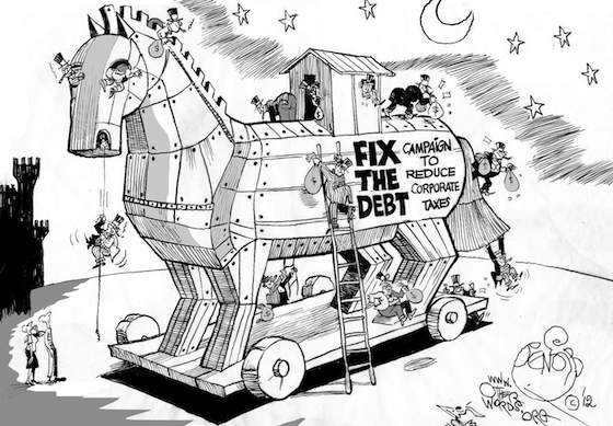 The Trojan Horse in the Debt Debate