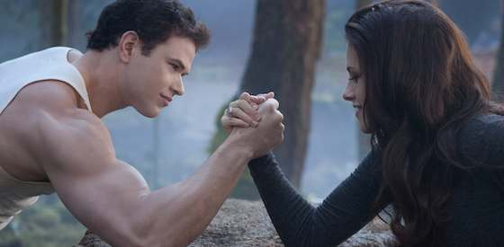 Kristen Stewart and Robert Pattinson  in The Twilight Saga: Breaking Dawn - Part 2