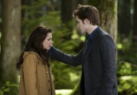 Kristen Stewart & Robert Pattinson in the movie The Twilight Saga: New Moon