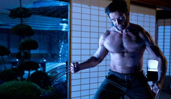 Hugh Jackman and Famke Janssen  in 'The Wolverine'