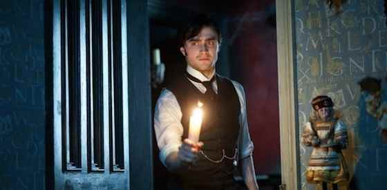 Daniel Radcliffe and Ciaran Hindsin The Woman in Black