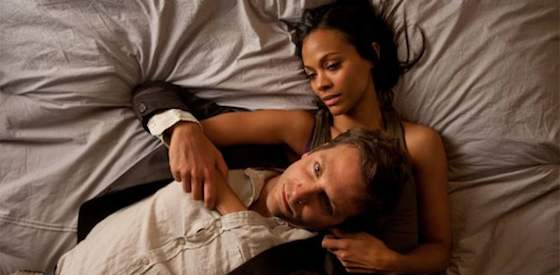 Bradley Cooper and Zoe Saldana  in The Words
