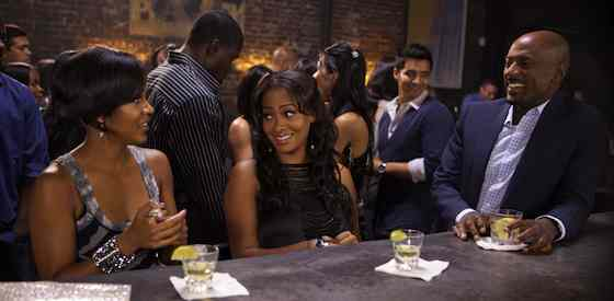 Romany Malco and Meagan Goodin Think Like a Man