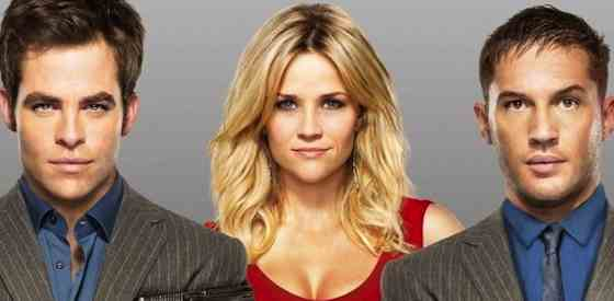 Reese Witherspoon and Chris Pinein This Means War