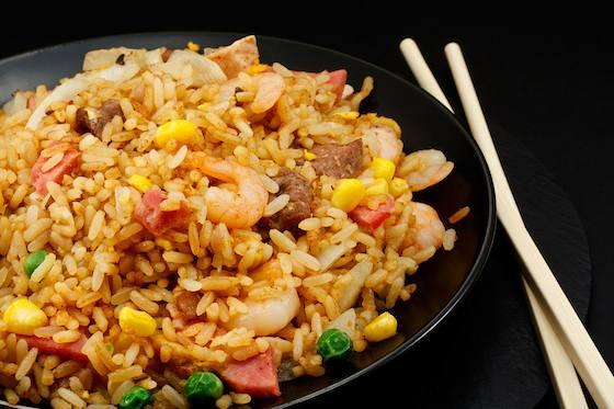 Three Color Fried Rice Recipe