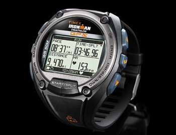 From Timex comes another watch with GPS that's aimed at fitness jocks. The Ironman Global Trainer isn't the first GPS watch, but it is relatively sleek and not that homely, considering it can track speed, pace, and distance while also measuring location, altitude, and ascent and descent rates.