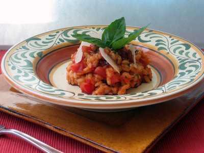 Emily's Tomato Risotto